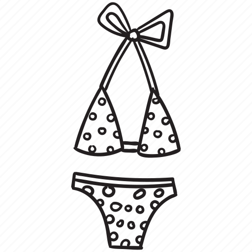 beach, bikini, summer, swimsuit, swimwear, travel, vacation icon
