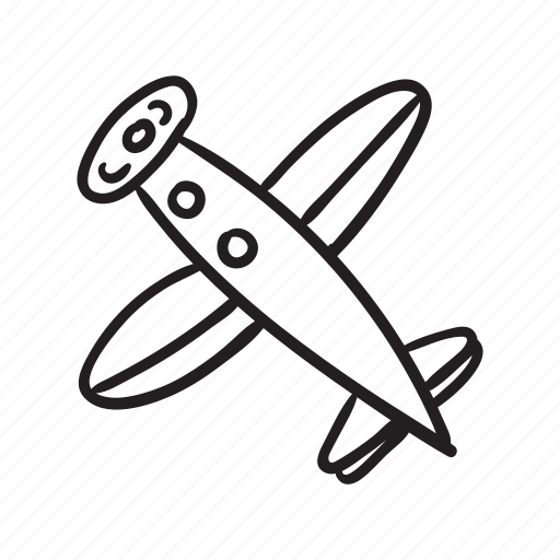 Fly, plane, planner, summer, transport, travel, vacation icon - Download on Iconfinder