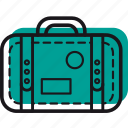 bag, luggage, suitcase, summer, things, trip, vacation icon