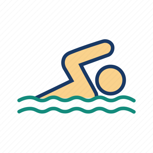 resort, sports, swim, swimming, swmming pool icon
