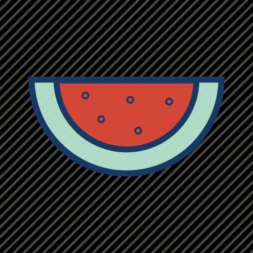 food, fresh, fruit, healthy, slice, summer fruit, watermelon icon