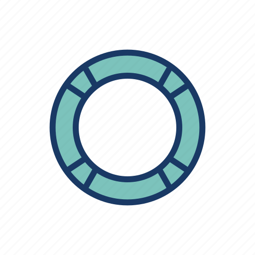 beach, life ring, rubber ring, sea, swim ring, swim tube, vacation icon