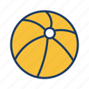 ball, beach ball, game, play, sport, summer, toy icon