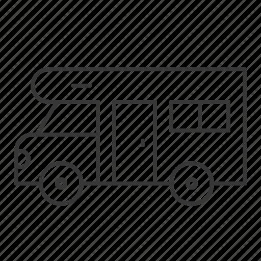 camping, camping car, car, summer, transportation, vehicle icon