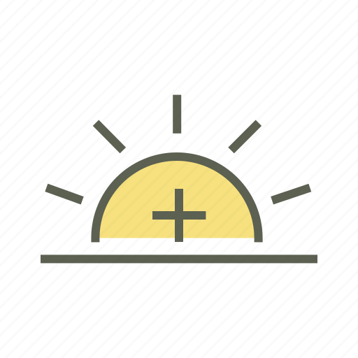 Daytime, high temperature, hot sun, summer, sun, sunny day icon - Download on Iconfinder