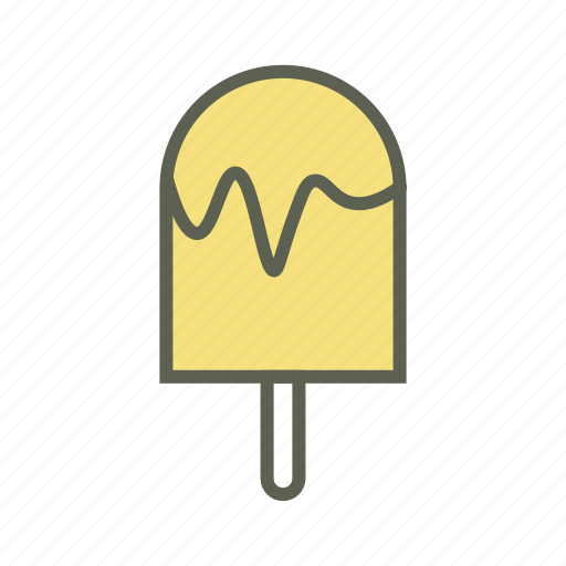 dessert, food, stick ice cream, summer, sweet icon