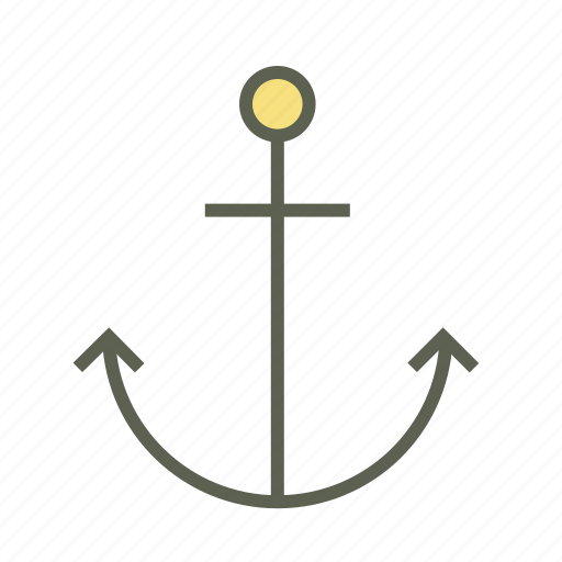 anchor, cruise, marine, ocean, sea, ship, water icon