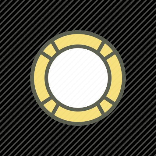 beach, life ring, rubber ring, sea, swim ring, swim tube, vacation icon
