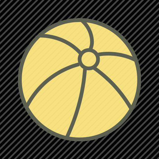 ball, beach ball, game, play, sport, summer, toy icon
