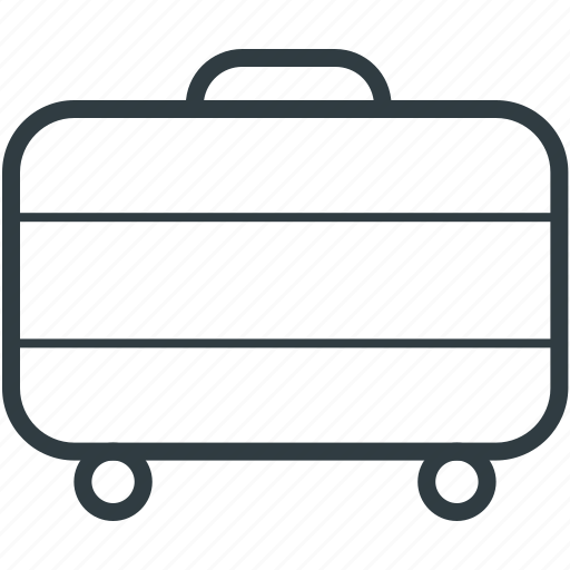 luggage, suitcase, tourism, travel, traveling bag icon