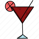 alcohol, drink, wine icon