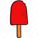 cream, food, ice icon