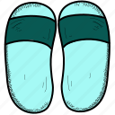beach, foot, sandal icon