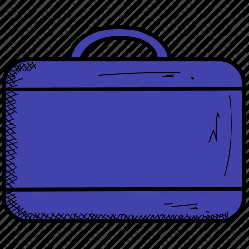 suitcase, summer icon
