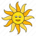 grace, hot, star, summer, sun, sunshine, warm icon