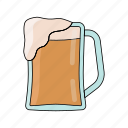 alchol, beer, cold, drink, drunk, pub, summer icon