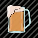 summer, drunk, drink, pub, alchol, beer, cold icon
