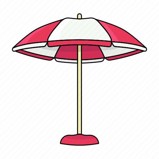 cool, hot, shadow, summer, sun cover, umbrella icon