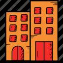 building, hotel