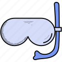 goggles, pool, swim, swimming icon