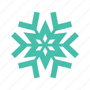 frozen, snow, snowflake, snowing, unique, water, winter icon