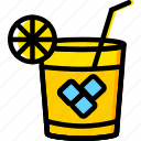 cocktail, holiday, summer, vacation icon