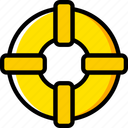 buoy, holiday, life, summer, vacation icon