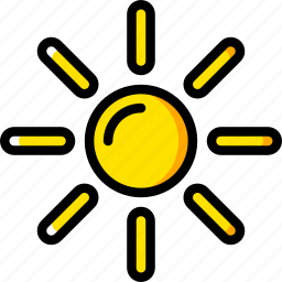 holiday, summer, sun, vacation icon