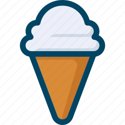 cream, food, ice, summer, sweet icon