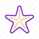 animal, duotone, sea, star, starfish, summer, summertime