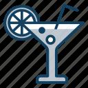 beach drink, beverage, lemonade, soda, summer drink icon