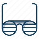 eyewear, goggles, shades, spectacles, sunglasses icon