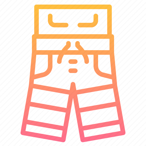 clothes, fashion, pants, shorts icon