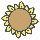 floral, flower, garden, nature, plant, sun, sunflower icon