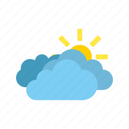 clouds, heavy, weather icon