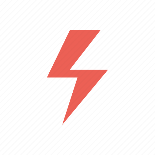 electricity, flash, power, storm, weather icon