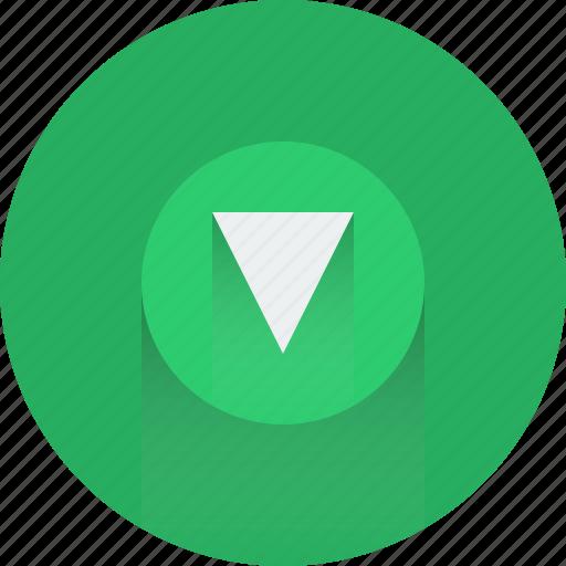 arrow, arrows, down, download, download icon, green icon