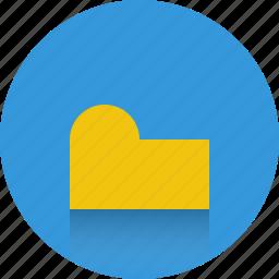 close folder, file, folder icon