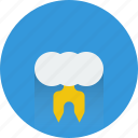 storm, thunder, weather icon icon