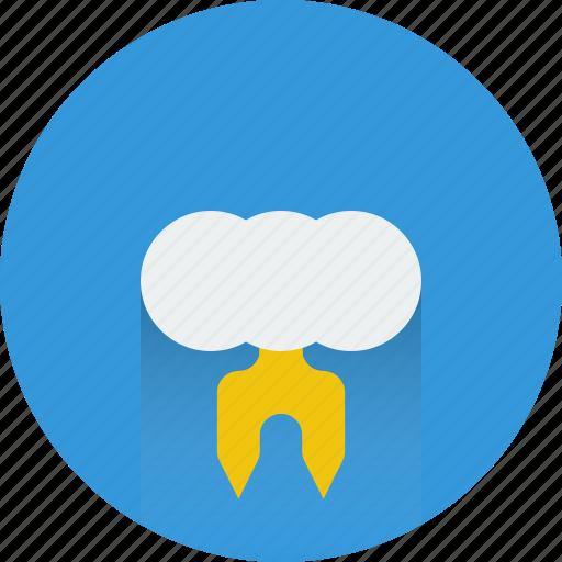 storm, thunder, weather icon icon