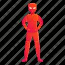 hand, red, superhero, woman
