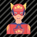 accessory, appearance, attribute, image, superhero icon