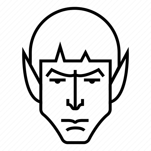 avatar, man, spock, superhero, vulcan icon