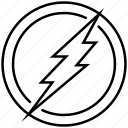 emblem, flash, lightning, sign, superhero, the icon
