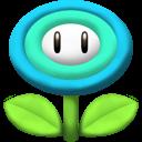 flower, ice