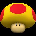mega, mushroom, super mario icon