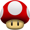 mushroom, super icon