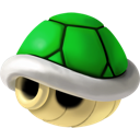 green, shell icon