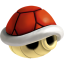 red, shell