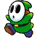 green, shyguy icon